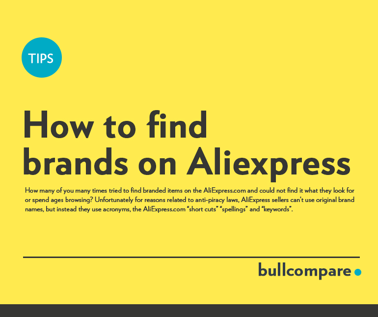 How to Find Brands on Aliexpress