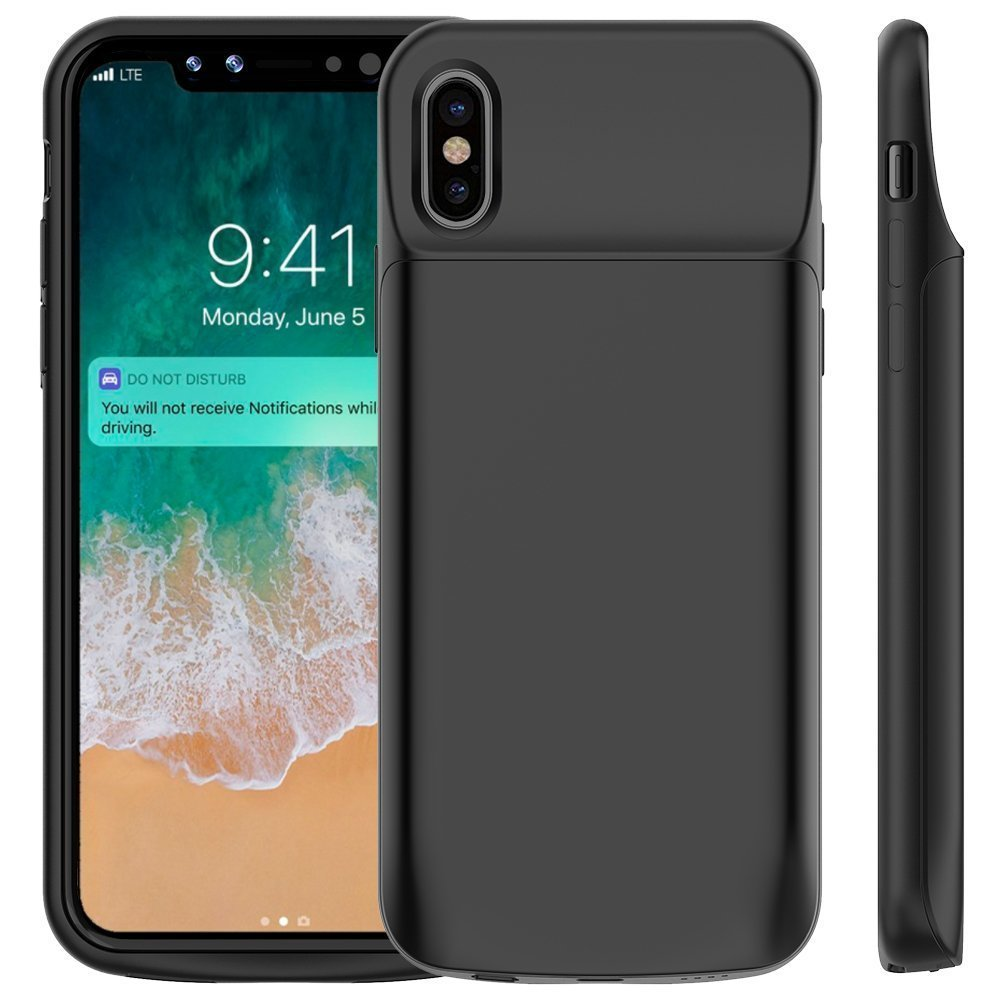 Portable Charging Case For Iphone X Bull Compare