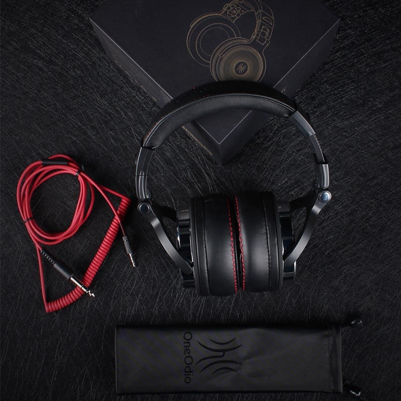 oneodio professional studio dj headphones with microphone bull compare. Black Bedroom Furniture Sets. Home Design Ideas